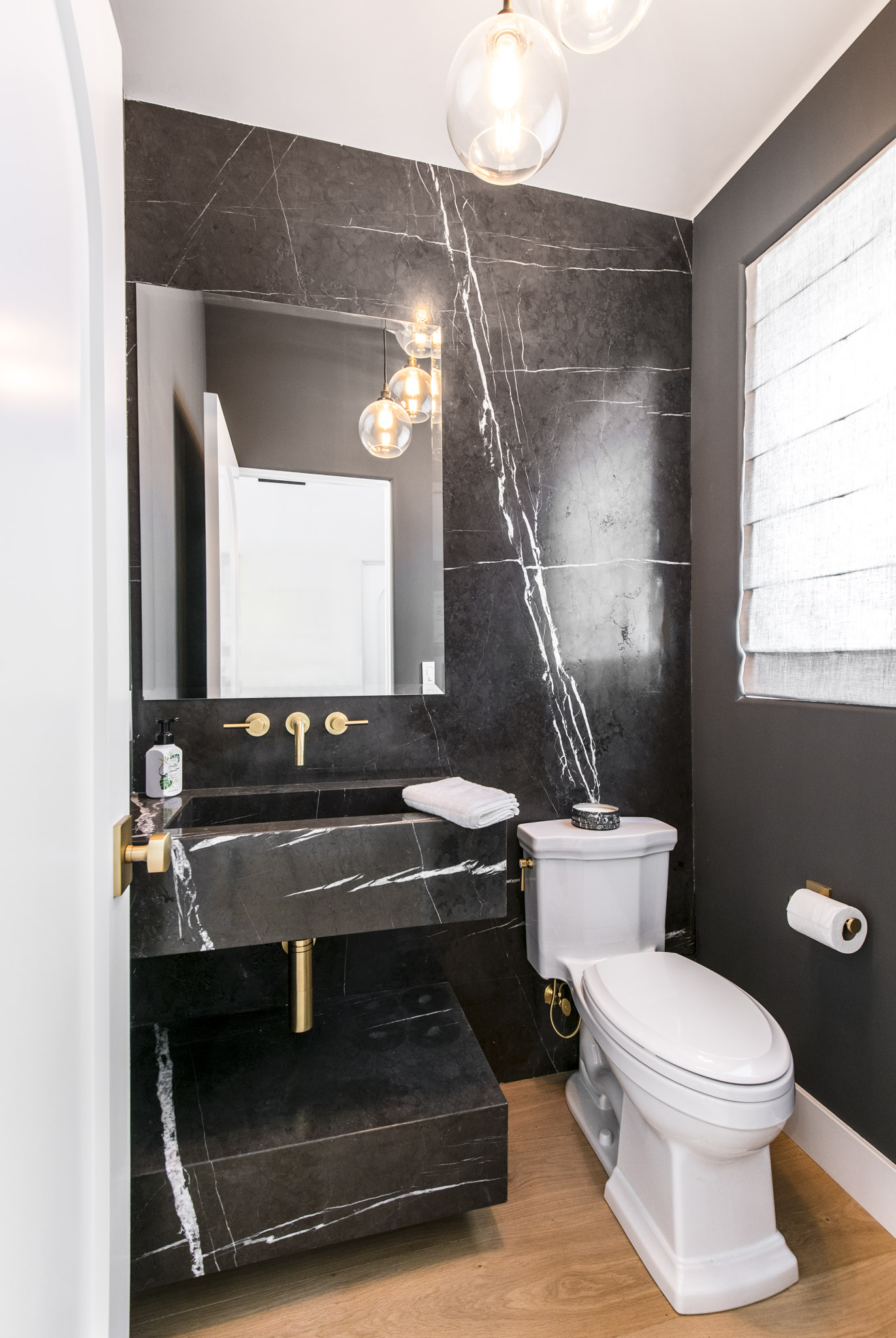 Luxe Remodel Powder Room